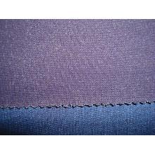 Indigo Blue Pique Jersey Denim