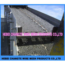 Malha de arame frisado de aço com baixo teor de carbono
