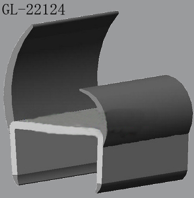 Slot Type Rubber Seal Strip for Freezer Trucks Door
