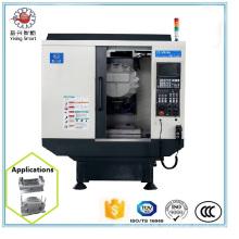 Top Qualität Hohe Präzision 3 Achsen Kleine CNC Drehmaschine für Hardware Teile