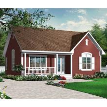 Maison en bois préfabriquée SIPs (3121)