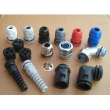 Prensaestopas de nailon Mg fabricados en China con color negro y gris
