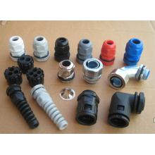 Mg Nylon Cable Glands Made in China with Black, Grey Color