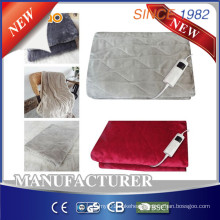 Comfy Flannel Heated Throw with 5-Setting Controller for EU Market