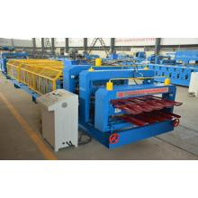 Roof Glazed IBR Double Roll Forming Machine