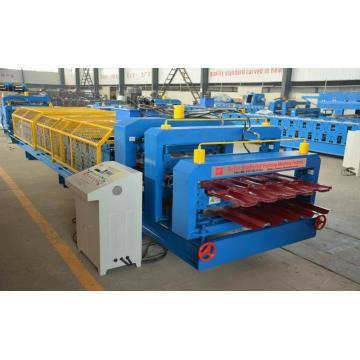 Atap mengkilap IBR Double Roll Forming Machine