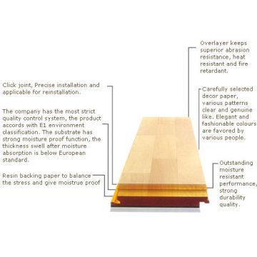 Laminated Flooring (Structure)