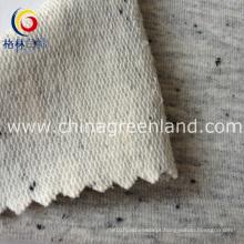100% algodão tecido de malha de lã para vestuário têxtil (gllml119)