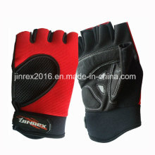 Gym Training Fitness Mitt Bicycle Leahter Luva de levantamento de peso de esportes