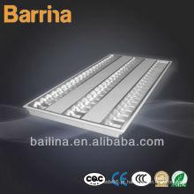 Lâmpada fluorescente de grade de montagem em superfície de 3 * 28W