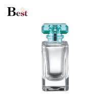 Alibaba productos calientes cuadrado claro botella de perfume vacía 60 ml botella de perfume de vidrio china embalaje cosmético