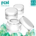Round acrylic cosmetic plastic jar bottle cosmetic cream 15ml 30ml 50ml