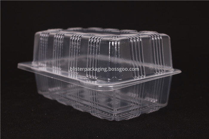 Clear Biscuit Box