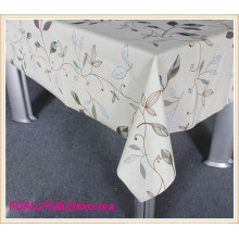 Fashion Design PVC Table Cloths with Nonwoven Backing (TJ0107)