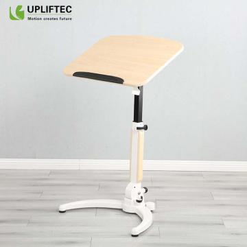 Pneumatic Height Adjustable Sit-Stand Laptop Computer Desk