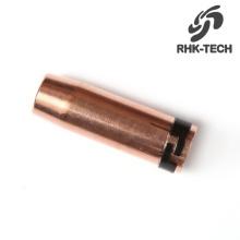 501D 401D 36KD 24KD 15AK mig schweißbrenner gewehr verbrauchsmaterialien gasdüsen material leister gas düse größen typ distanz für verkauf
