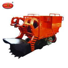 underground mining rock loader/tunnel mucking machine/mucking rock loader with CE approcved