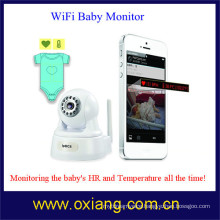 WiFi baby monitor with smart phone viewing