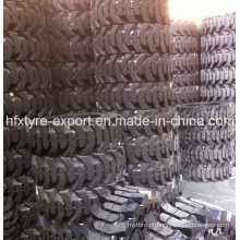 Minicarregadeira pneu 31 X 10-20 30 X 10-16, pneumático contínuo com melhor preço, Industral pneumático