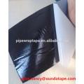 Ruban anticorrosion en polyéthylène avec bitume Adheisve pour l'emballage sous-marin