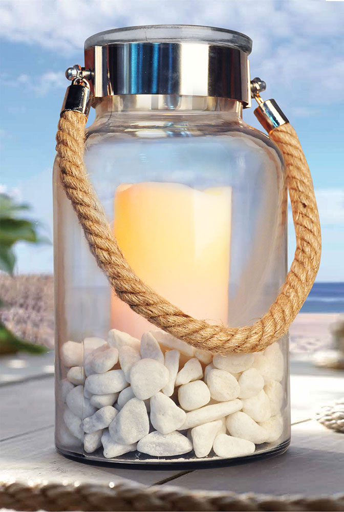 Glass Lantern Light