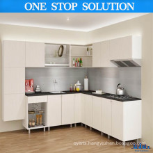 L Shape Style Modern Laminated UV Kitchen Cabinet