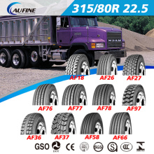All Steel Radial Truck Tyre, Tube Tyre, Tralier Tyre 315/80r22.5 with Reach DOT ECE