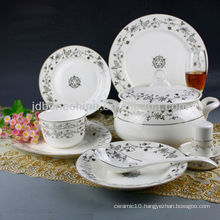 Russian style german fine china coffee tea set cup & saucer