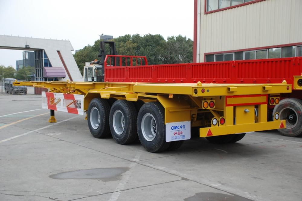 40T Tri-axle Skeletal Semi-Trailer