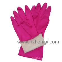 Pink Kitchen Latex Gloves Gants de latex pour le ménage Gant de travail