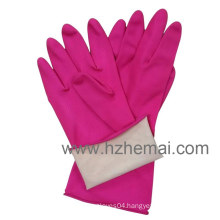 Pink Kitchen Latex Gloves Household Latex Gloves Work Glove