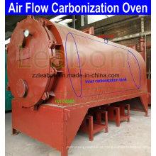 Carbono de madeira dura Lumps carbonização Dome forno fogão