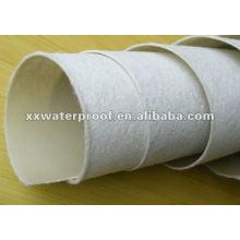 Fieltro / estera de tela de poliéster para membrana de betún APP / SBS