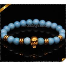 Joyería azul de la manera de las pulseras del encanto de la turquesa (CB094)