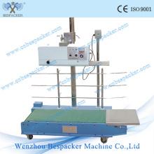 Máquina de sellador de banda continua de hoja de aluminio de aluminio de hierro