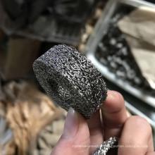 La haute résistance 6 6.5 10MM cylindrique en acier inoxydable a comprimé le filtre tricoté de maille pour le laitier d'airbag