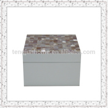 Boîte à coquille de nacre pour bijoux Boîte à bijoux Emballage