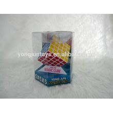 YongJun plastic 5x5 magique cube brain teasers