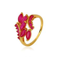 Xuping Элегантное синтетическое кольцо CZ