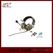 Combater o esporte ao ar livre Z038 tático militar Comtac IV estilo fone de ouvido