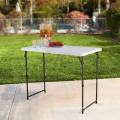 Height Adjustable Folding Utility Table