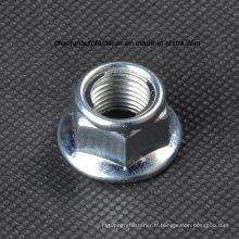 Écrou de verrouillage d'insertion de bride en acier au carbone (CZ009)