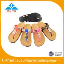 Prix d'usine en Chine belle et simple sandale de dame de style