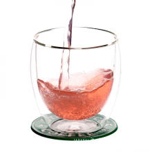 Double Wall Thermal Glass Cups For Wine