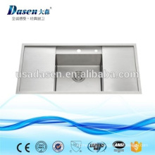 DS10050B hot sale royal stainless steel undermount handmade kitchen sink manufacturers