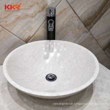 natuursteen marble basin grey marble sinks square cabinet table top sinks washing basin