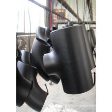 Tee de réduction sans couture en acier au carbone (SCH5 - SCH160)