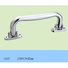 Silver Plastic Handle for Light Aluminium Case C015