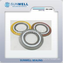 Прокладки спиральных уплотнительных прокладок для труб с фланцами (Sunwell)