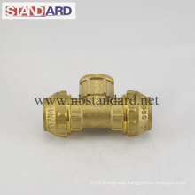 Female Tee Brass PE Fitting
